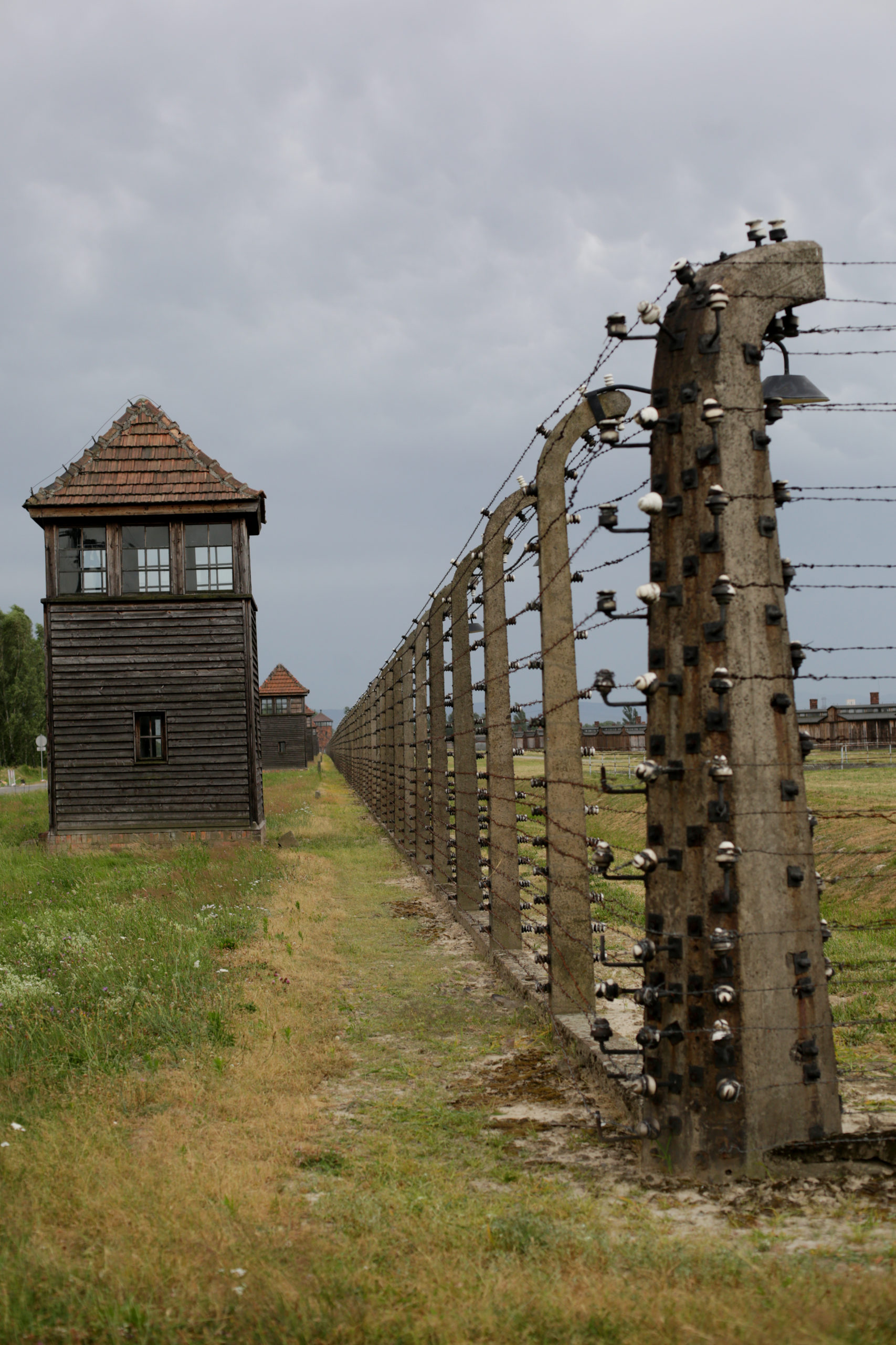 Photo of KL Auschwitz II-Birkenau taken by Jaroslaw Praszkiewicz.