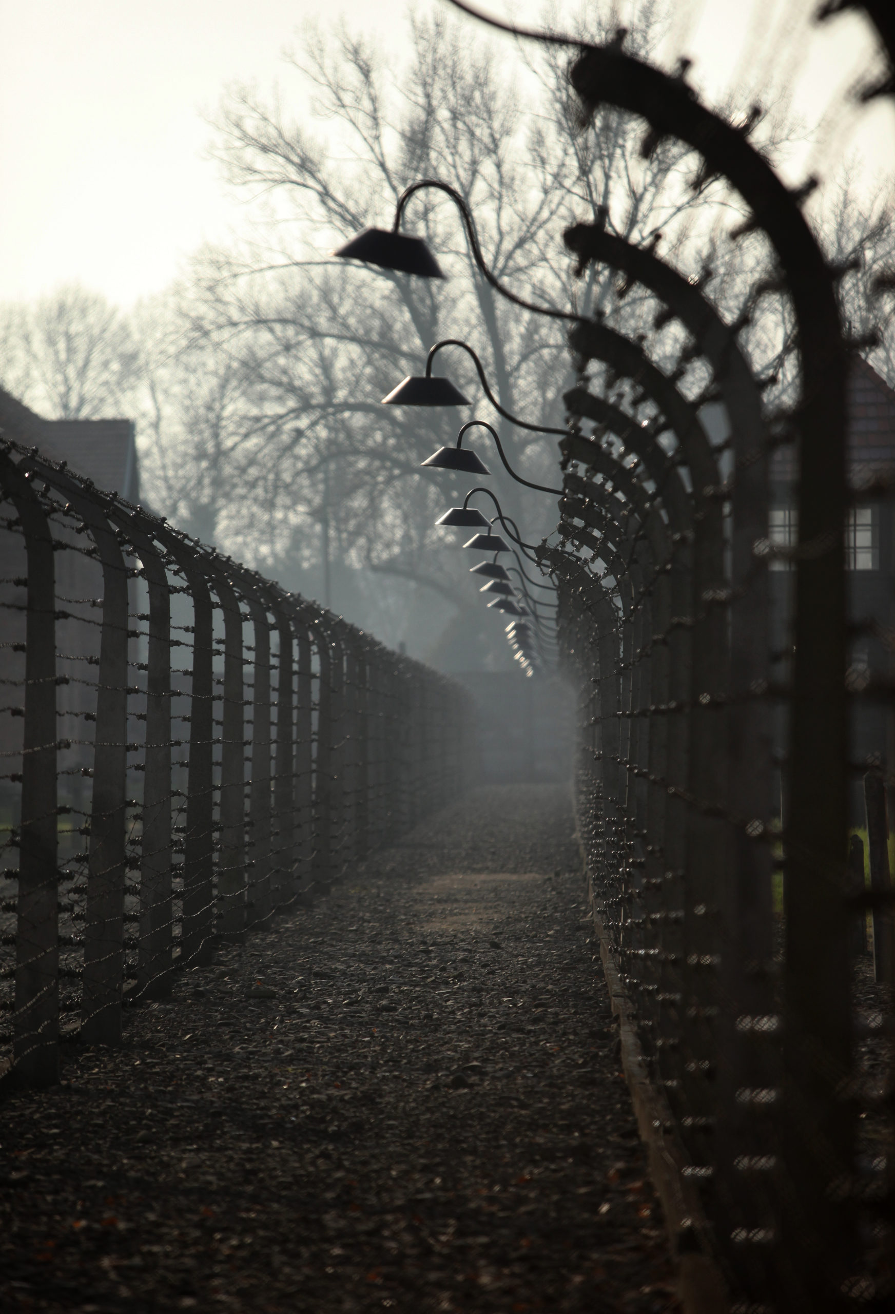 Photo of KL Auschwitz taken by Jaroslaw Praszkiewicz